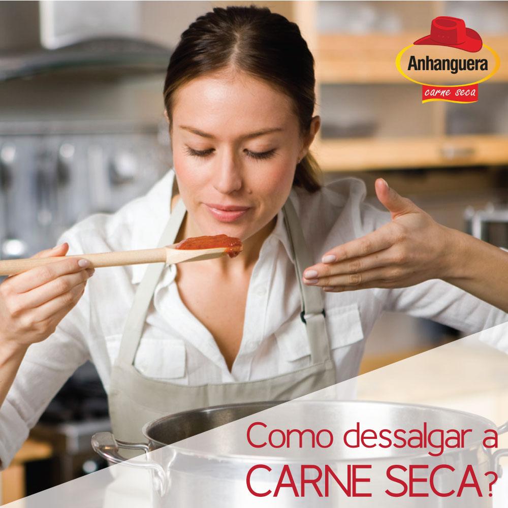 Como Dessalgar a Carne Seca? Carne Seca - Charque e Jerked Beef Anhanguera Alimentos