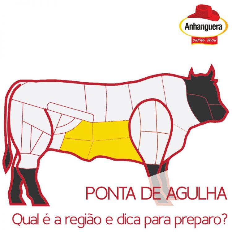 Ponta de Agulha, qual é a região e dica de preparo? - Anhanguera Charque Carne Seca Jerked Beef Jabá