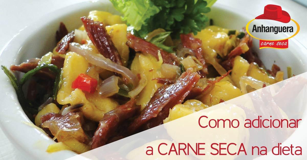 Como adicionar a CARNE SECA na dieta - Anhanguera Charque Carne Seca Jerked Beef Jabá