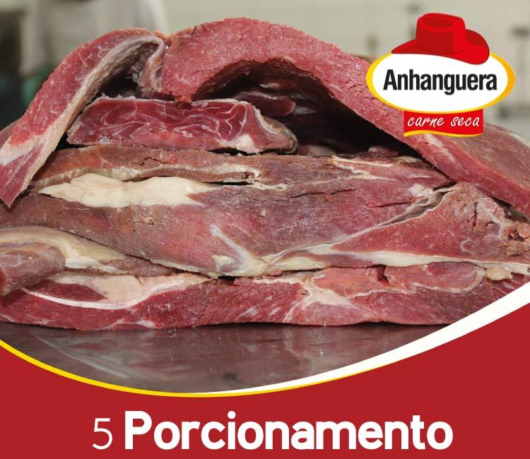 5 Porcionamento do charque - Anhanguera Carne Seca e Jerked Beef