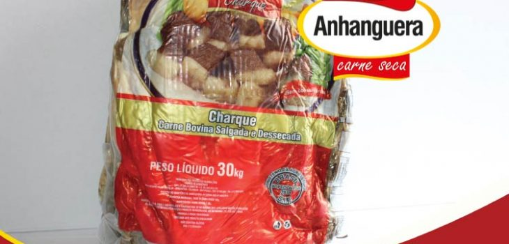 Charque embalagem 30kg - Anhanguera Carne Seca e Jerked Beef