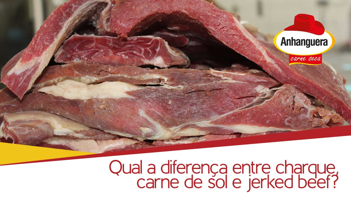 Qual a diferença charque, carne de sol e jerked beef?
