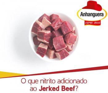 O que nitrito adicionado ao Jerked Beef?