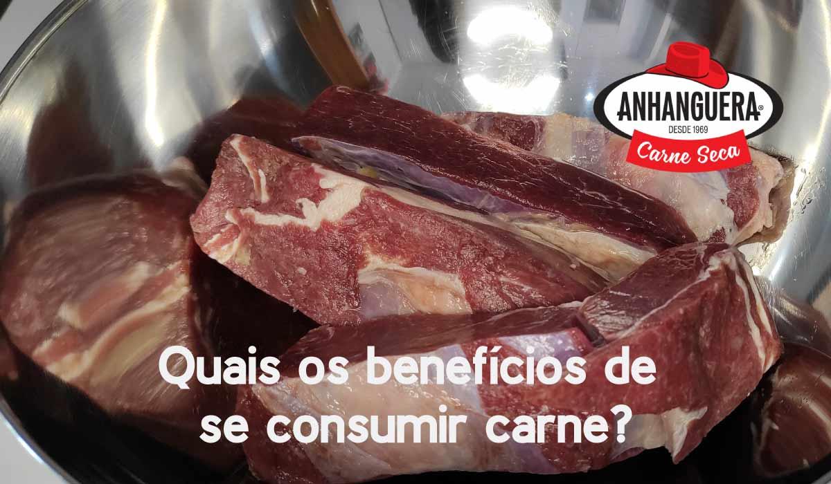 Quais os benefícios de se consumir carne?