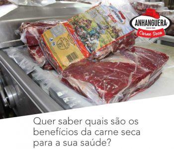 Quer saber quais são os benefícios da carne seca para a sua saúde?