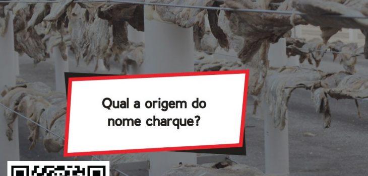 Qual a origem do nome charque?