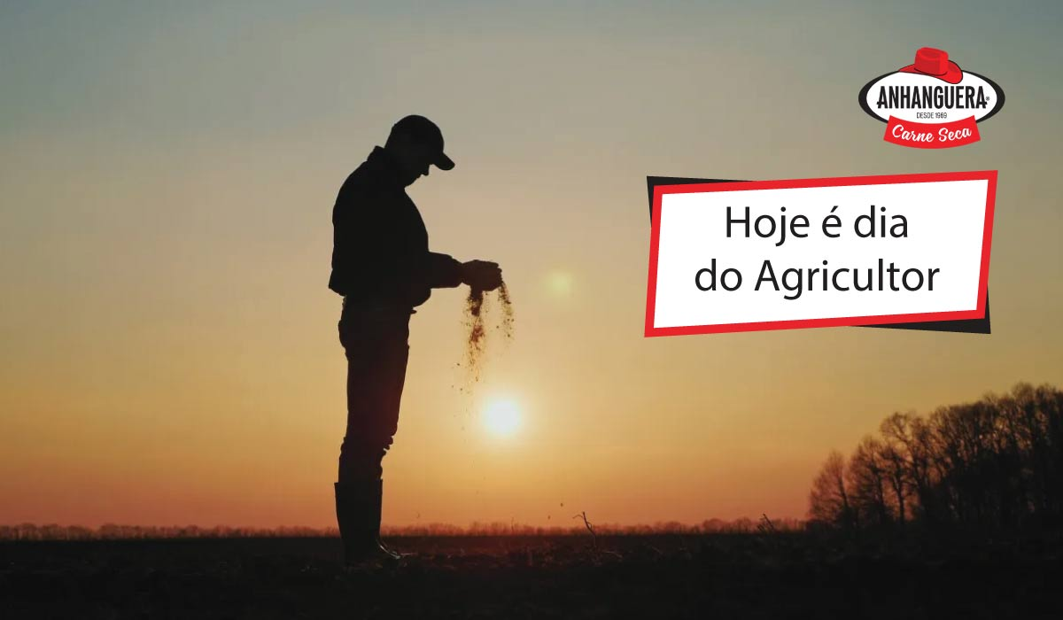 Hoje é dia do Agricultor