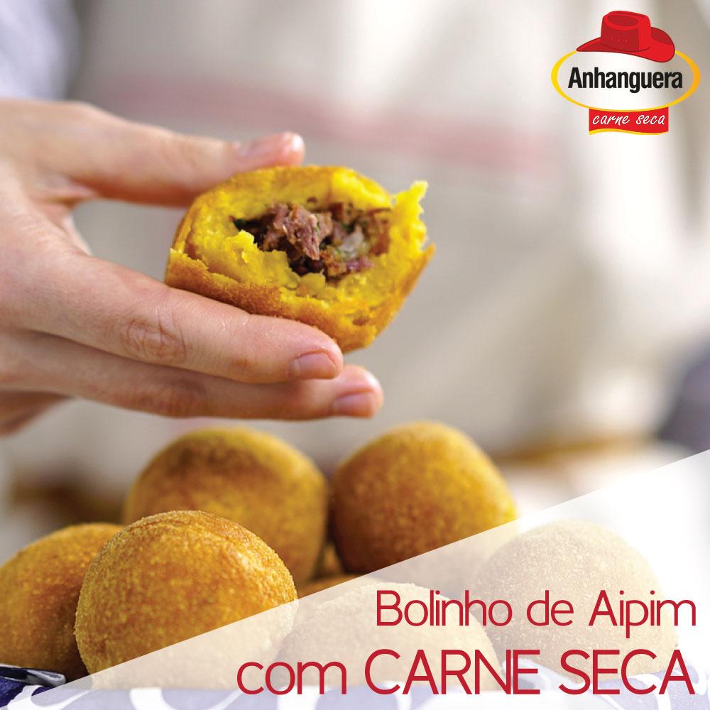 Bolinho de Aipim de Carne Seca - Anhanguera Charque Jerked Beef Jaba