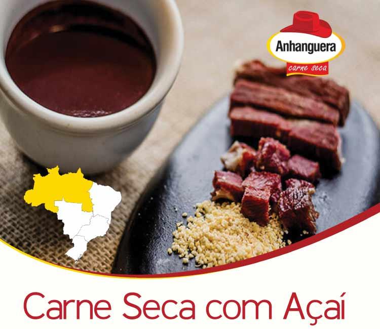 Carne Seca com Açaí - Anhanguera Charque Jerked Beef Jaba