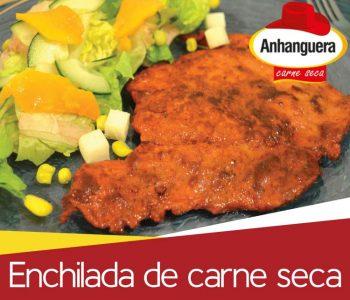 Enchilada de carne seca