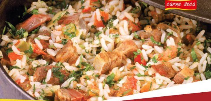O arroz carreteiro é de qual região do Brasil?