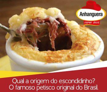 Qual a origem do escondidinho? O famoso petisco original do Brasil. 1