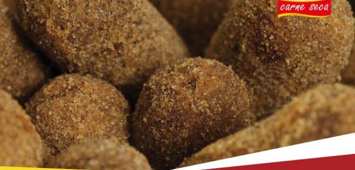 Qual a melhor receita de croquete com Carne Seca?