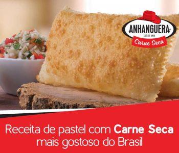 Receita de pastel com carne seca mais gostoso do Brasil