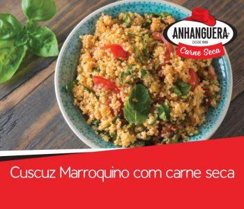 Cuscuz Marroquino com carne seca Anhanguera 1