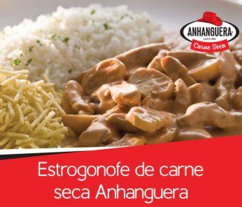 Estrogonofe de carne seca Anhanguera